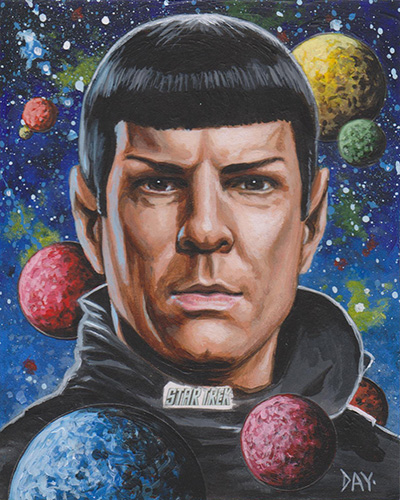 David Day Unofficial Sketch - Spock