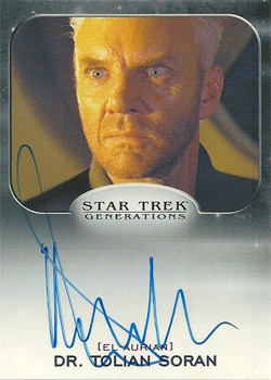 Autograph - Malcolm McDowell