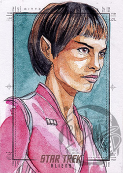 Irma Ahmed Sketch - T'Pol