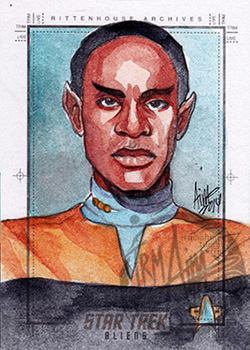 Irma Ahmed Sketch - Tuvok