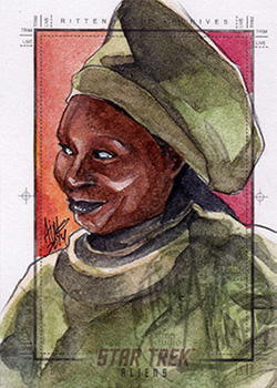 Irma Ahmed Sketch - Guinan