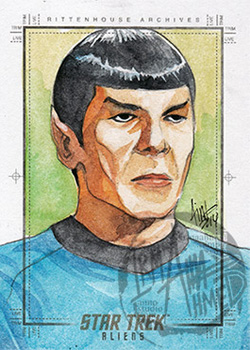 Irma Ahmed Sketch - Spock