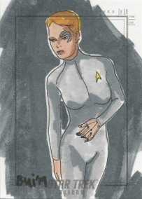 Thanh Bui Sketch - Seven of Nine