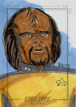 Thanh Bui Sketch - Worf