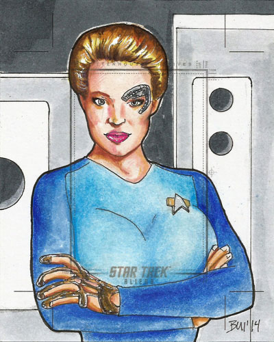 Thanh Bui Sketch Return - Seven of Nine