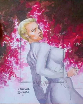 Jomar Bulda Sketch Return - Seven of Nine
