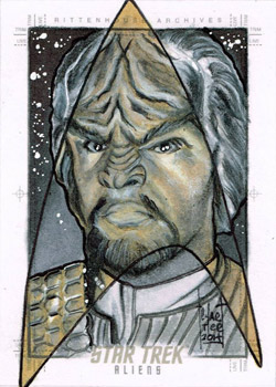 Francois Chartier Sketch - Worf