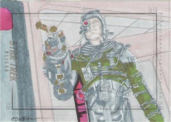Roy Cover Sketch - Borg Drone