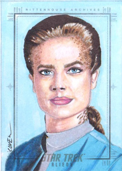 Roy Cover Sketch - Jadzia Dax
