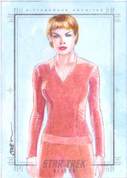 Roy Cover Sketch - T'Pol