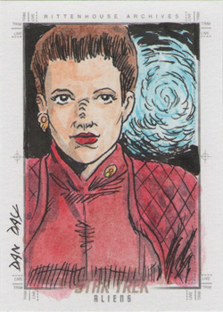 Dan Day Sketch - Kira-Nerys