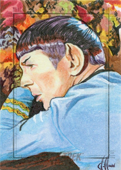Chris Hoffman Sketch - Spock