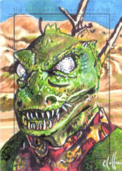 Chris Hoffman Sketch - Gorn