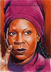 Chris Hoffman Sketch - Guinan