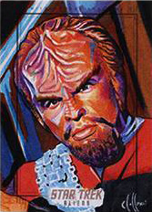 Chris Hoffman Sketch - Worf