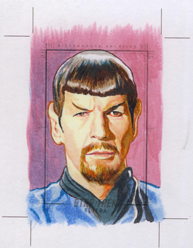Chris Hoffman Sketch Return - Mirror Spock