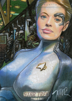 Javier Gonzalez Return - Seven of Nine