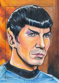 Tim Levandoski Sketch Return - Spock 01