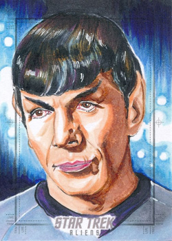 Tim Levandoski Sketch Return - Spock 02
