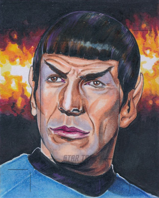 Tim Levandoski Sketch Proof - Spock