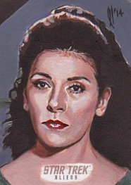 Lee Lightfoot Sketch - Deanna Troi