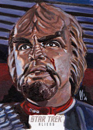 Lee Lightfoot Sketch - Worf
