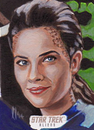 Lee Lightfoot Sketch - Jadzia Dax