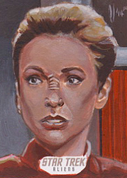 Lee Lightfoot Sketch - Kira Nerys