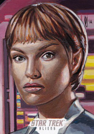 Lee Lightfoot Sketch - T'Pol