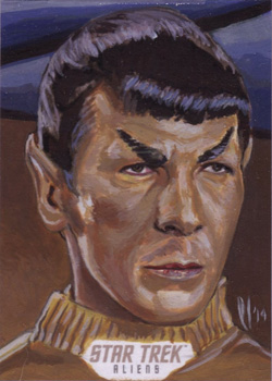 Lee Lightfoot Sketch Return - Spock