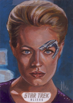 Lee Lightfoot Sketch Return - Seven of Nine