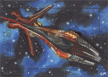 Chris Meeks Sketch - Species 8472 Bioship