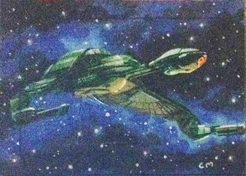 Chris Meeks Sketch - Klingon Bird of Prey