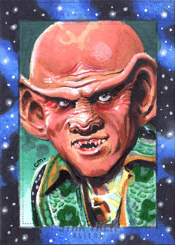 Chris Meeks Sketch - Quark