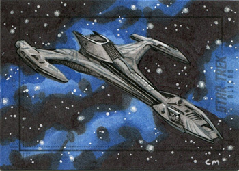 Chris Meeks Sketch - Klingon Raptor