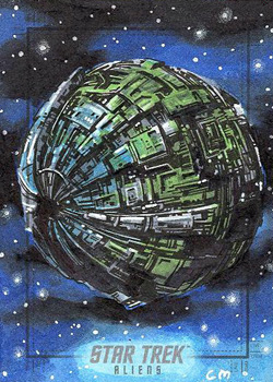 Chris Meeks Sketch - Borg Sphere