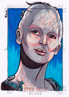 Rich Molinelli Sketch - Borg Queen