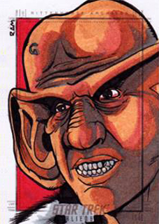 Rich Molinelli Sketch - Ferengi