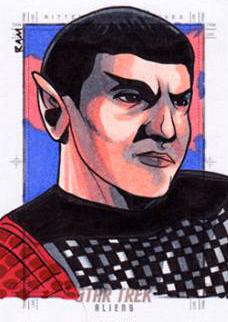 Rich Molinelli Sketch - Romulan Commander