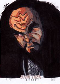 Rich Molinelli Sketch - General Martok