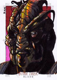 Rich Molinelli Sketch - Xindi Insectoid