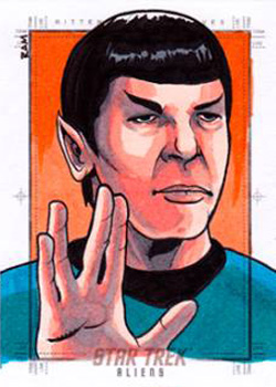 Rich Molinelli Sketch Return - Spock