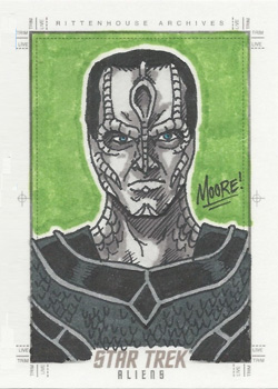 Sean Moore Sketch - Cardassian