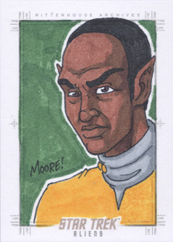 Sean Moore Sketch - Tuvok