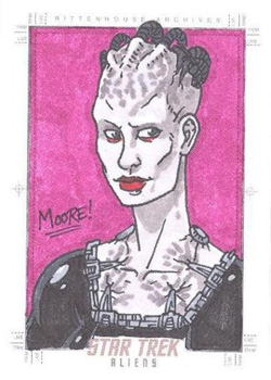 Sean Moore Sketch - Borg Queen