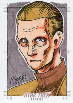 Sean Moore Sketch - Odo