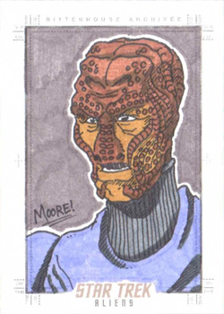 Sean Moore Sketch - Hirogen