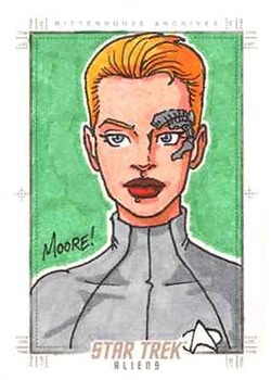 Sean Moore Sketch Return - Seven of Nine