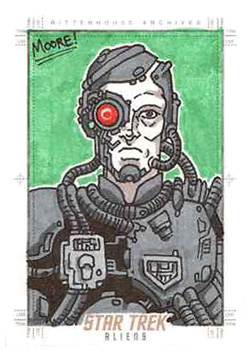 Sean Moore Sketch Return - Borg