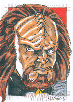 Mat Nastos Sketch Return - Worf